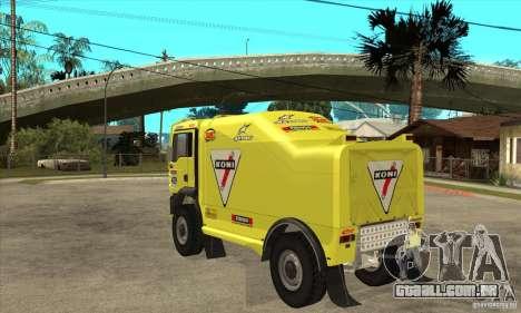 MAN TGA Rally OFFROAD para GTA San Andreas vista direita