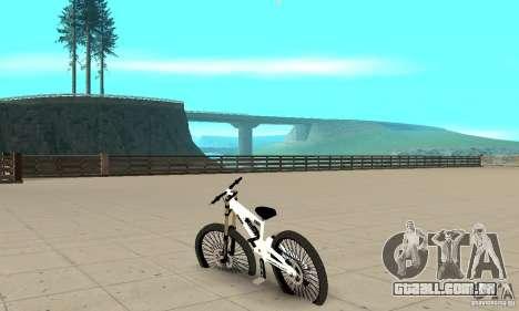 Nox Startrack DH 9.5 v2 para GTA San Andreas traseira esquerda vista