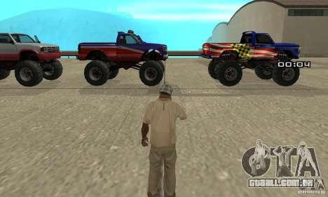 A bomba atômica para GTA San Andreas segunda tela