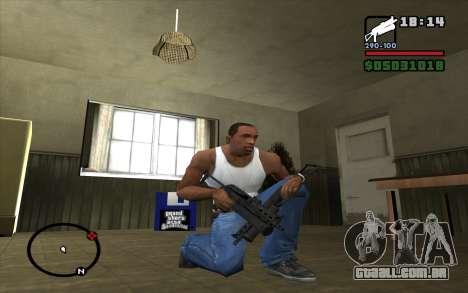 PP-19 Bizon para GTA San Andreas terceira tela