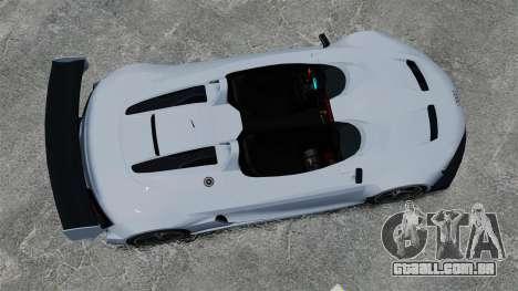 Audi R8 Spider Body Kit Final para GTA 4 vista direita