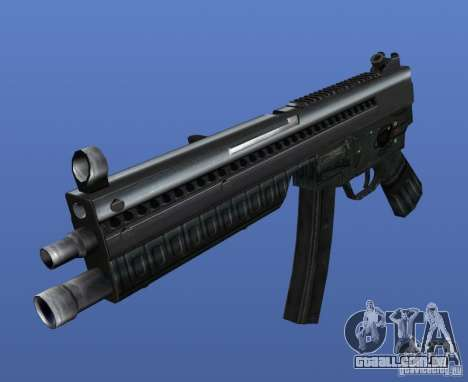 Heckler & Koch MP5 para GTA 4