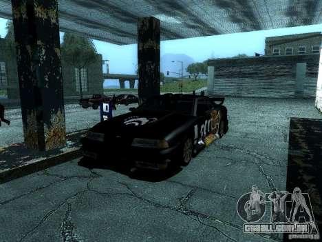 Vinil grande Lou de Most Wanted para GTA San Andreas vista interior