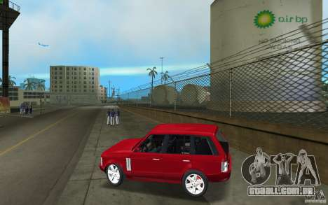 Range Rover Vogue 2003 para GTA Vice City deixou vista