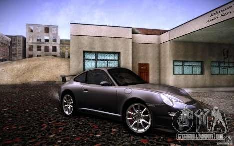 Porsche 911 GT3 (997) 2007 para GTA San Andreas vista direita