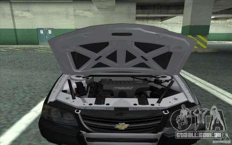 Chevrolet Impala 2003 SFPD para GTA San Andreas vista direita