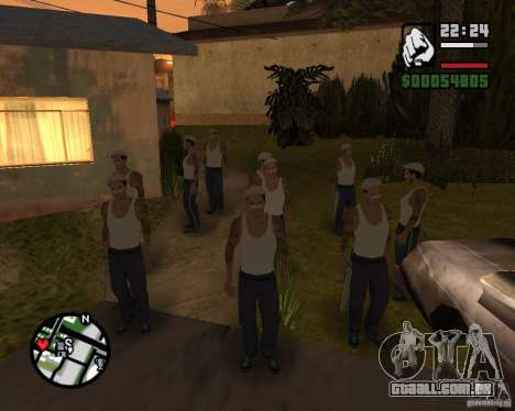 CJ Gopnik para GTA San Andreas