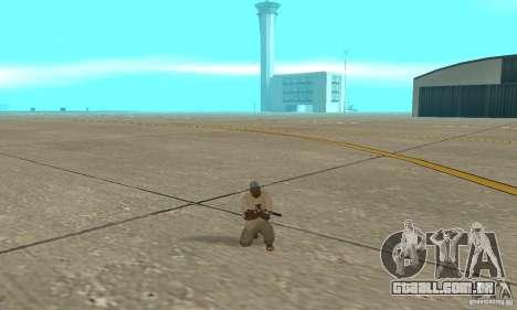 Actdead para GTA San Andreas segunda tela
