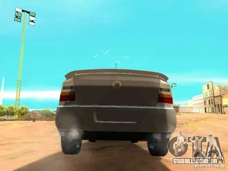 Chevrolet Astra Hatch 2010 para GTA San Andreas traseira esquerda vista