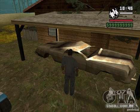 Caçador de casa v. 3.0 Final para GTA San Andreas segunda tela
