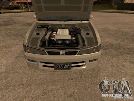 Chavos de Gta 4 para GTA San Andreas traseira esquerda vista