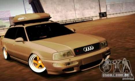 Audi RS2 Avant Thug para GTA San Andreas vista direita