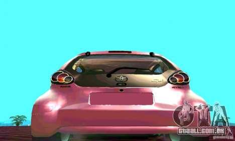 Toyota Aygo V1.0 para GTA San Andreas vista direita