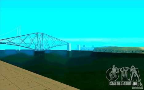 Enbseries qualitativa para GTA San Andreas terceira tela
