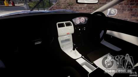 Nissan Silvia S14 [EPM] para GTA 4 vista de volta