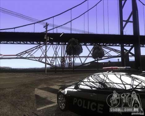 Enbsereis 0.74 Dark para GTA San Andreas segunda tela