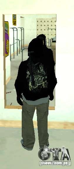Vagos Gang Skins para GTA San Andreas quinto tela