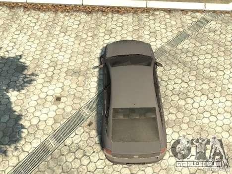 Opel Vectra para GTA 4 vista de volta