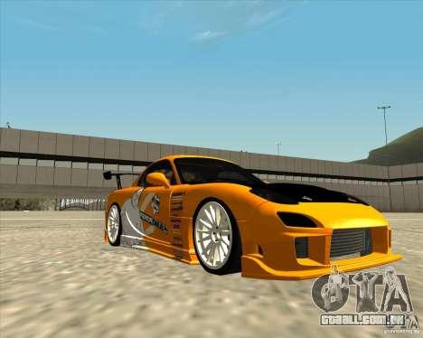 Mazda RX-7 sumopoDRIFT para GTA San Andreas