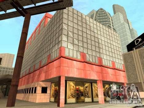 Novo centro de texturas Los Santos para GTA San Andreas nono tela
