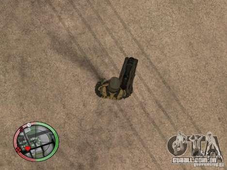 Armas alienígenas de Crysis 2 v2 para GTA San Andreas quinto tela