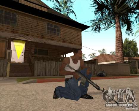 CoD:MW2 weapon pack para GTA San Andreas décimo tela