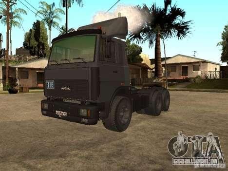 Caminhão MAZ 5336 para GTA San Andreas