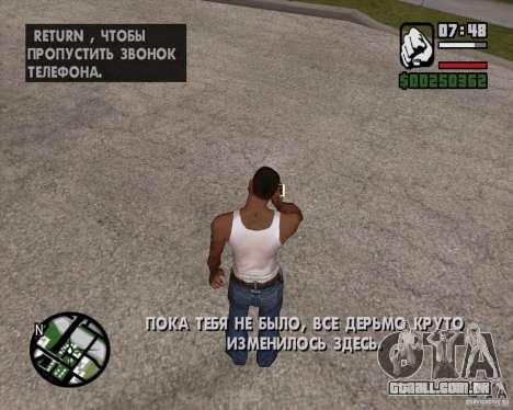 NES para GTA San Andreas terceira tela