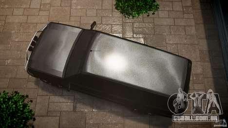 Cavalcade FBI car para GTA 4 vista direita