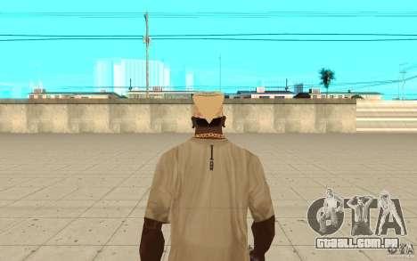 Bandana yendex para GTA San Andreas terceira tela
