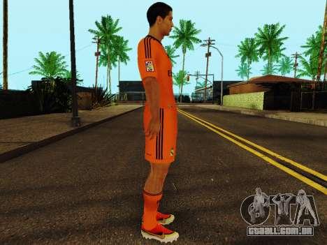 Cristiano Ronaldo v3 para GTA San Andreas segunda tela