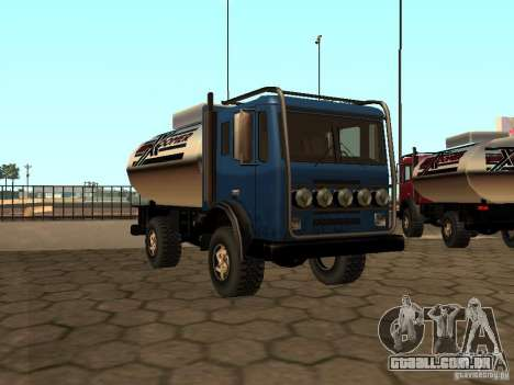 Tanque de Duna para GTA San Andreas