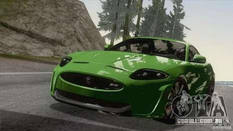 Jaguar XKR-S 2011 V1.0 para GTA San Andreas vista interior