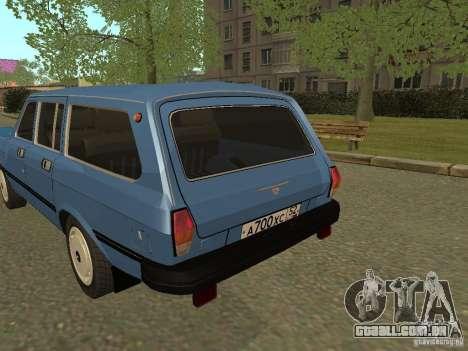 GAZ Volga 31022 para GTA San Andreas vista direita