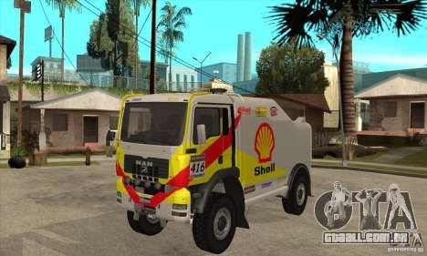 MAN TGA Rally OFFROAD para GTA San Andreas