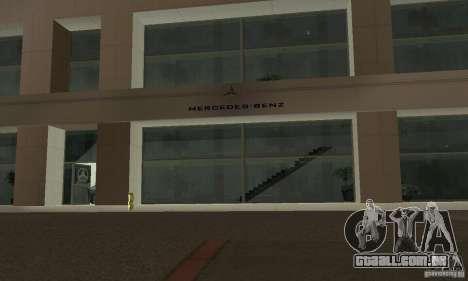 Mercedes Showroom v. 1.0 (Autocentre) para GTA San Andreas