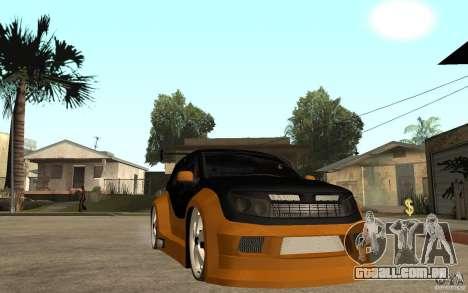 Dacia Duster Tuning v1 para GTA San Andreas vista traseira