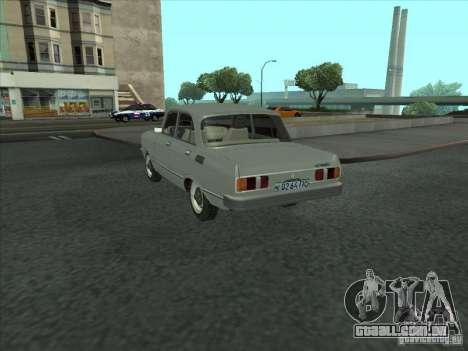SL Moskvich 2140 para GTA San Andreas traseira esquerda vista