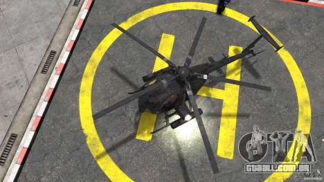 New AH-6 Little Bird para GTA 4 vista direita