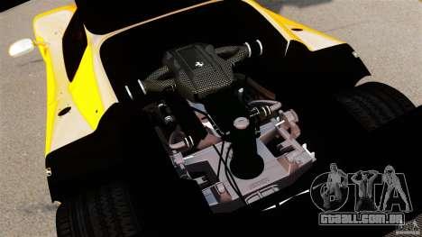 Ferrari F50 GT 1996 para GTA 4 vista interior