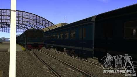 Um novo algoritmo de trem 5 para GTA San Andreas segunda tela