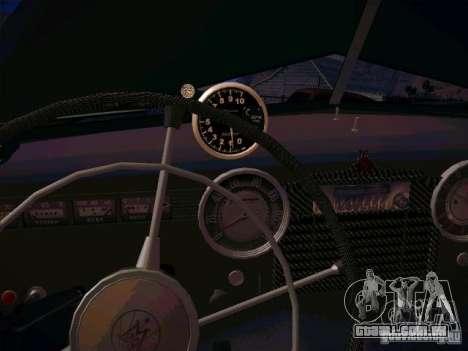 GAZ m 20 vencendo 1956 para GTA San Andreas vista interior