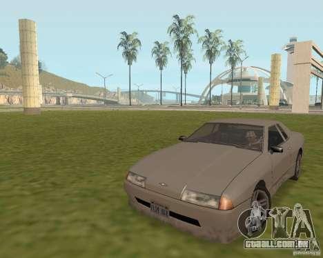 Carro de saída de emergência para GTA San Andreas segunda tela