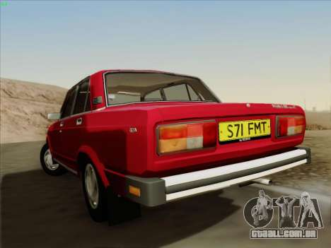 2105 Lada RIVA (exportação) 2.0 para GTA San Andreas vista direita