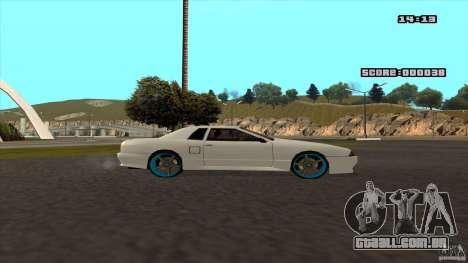 Drift Elegy by KaLaSh para GTA San Andreas vista direita