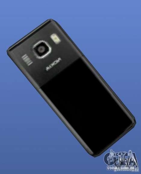 Telefone celular Nokia 6500 para GTA 4 segundo screenshot