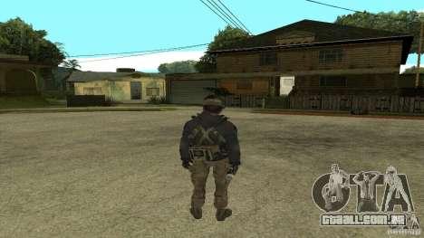 Captain Price para GTA San Andreas terceira tela