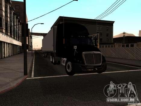 International Prostar para GTA San Andreas traseira esquerda vista