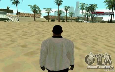 Jamaicano pele HD para GTA San Andreas por diante tela
