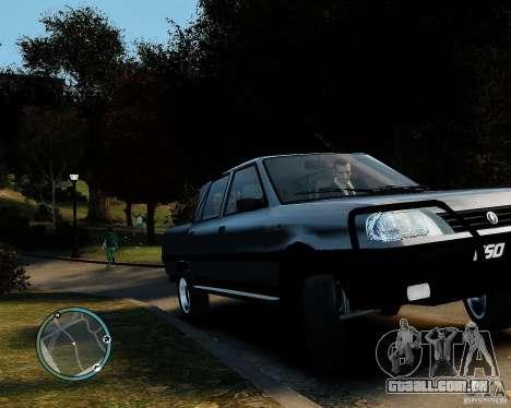 FSO Polonez Analog 4wd para GTA 4 traseira esquerda vista